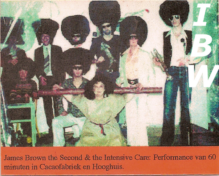 james brown the second and the intensive care / IBW